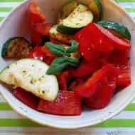 Warzywa z patelni z oregano
