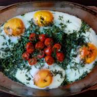 Zapiekanka ziemniaczana z jajem
