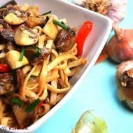 Żołądki drobiowe po tajsku