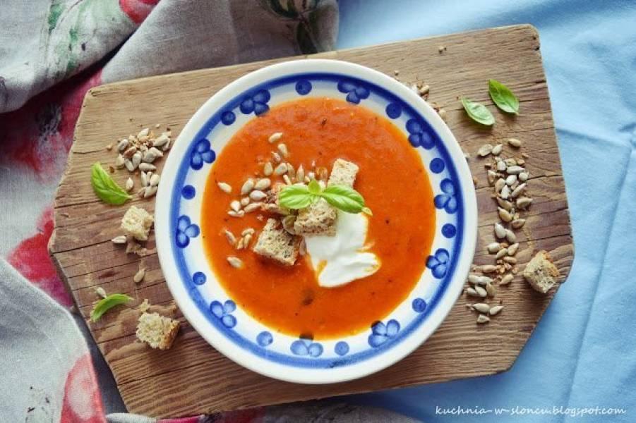 Najprostszy krem ze świeżych pomidorów