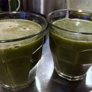Bomba witaminowa. Zielony odżywczy sok z sokowirówki. Wegański