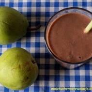 Koktajl gruszkowy z kakao