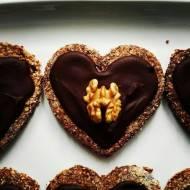 Owsiane ciasteczka czekoladowo-cynamonowe