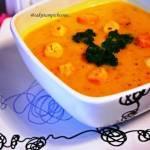Zupa krem z dynią i warzywami
