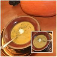 Dynia z kolendrą i chorizo