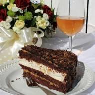 Tort gruszkowo - czekoladowy