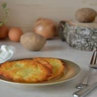 Placki kartoflane - tradycyjne danie woj. Śląskiego