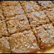 Ciastka owsiane z dynią