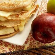 Cynamonowe naleśniki z jabłkami