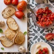 Jak zrobić klasyczną bruschettę al pomodoro (grzankę z pomidorami)?