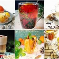 Zestawienie gorących herbat/kawa/grzańców na jesienne dni