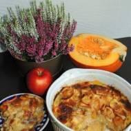 Clafoutis z jabłkami i dynią
