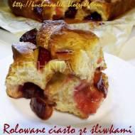 Rolowane ciasto ze śliwkami i cynamonem wg Aleex (TM5)