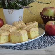 Ciasto jesienna krówka z jabłkami