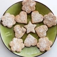 Kruche ciasteczka rodzynkowe paleo (z foremek)