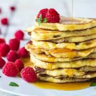 Pancakes paleo bez glutenu, zbóż i cukru.