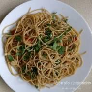 Aglio e olio peperoncino – włoskie, proste i pyszne!