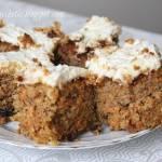 Ciasto marchewkowe z serkiem mascarpone