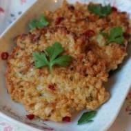 Placuszki ryżowe z pietruszką