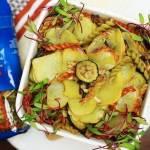 Makaron z ziemniakami