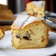 Ciasto na niedzielę szybkie i łatwe #9 Tarta cytrynowa z serem i kawałkami czekolady