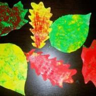 Malujemy liście.