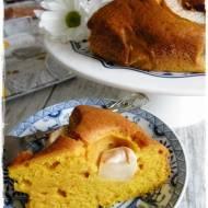 Ciasto dyniowe z jabłkami i skórką pomarańczy
