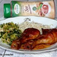 Kurczak pieczony w sosie madziarów