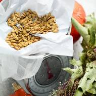 Pestki dyni prażone - przepis