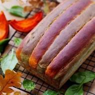 Jesienny chlebek dyniowo szpinakowy na drożdżach