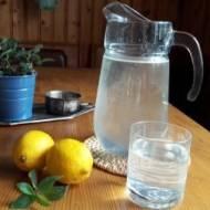 sok z cytryny i mięty