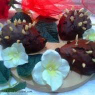 Orzechowo-czekoladowe jeże