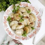 Pierogi ziemniaczane z serem