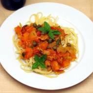 Spaghetti ze świeżymi pomidorami