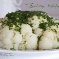 """""""Zielony """" kalafior - dietetycznie"""