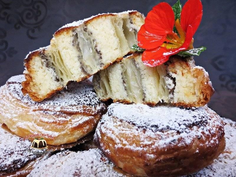 Kokosowe bułeczki francuskie z chia