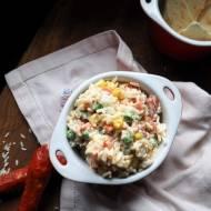 Sałarka  ryżowa z mixem warzyw
