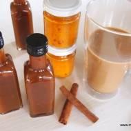 Syrop dyniowo-korzenny do kawy
