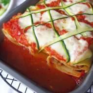 Roladki a'la lasagne z sosem pomidorowym