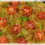 Zakręcona Fritella  z fenkułem i pomidorkami