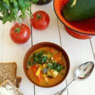 Leczo curry z kurczakiem