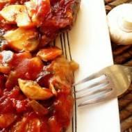 Karkówka w sosie ketchupowym