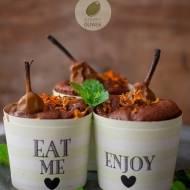 Muffinki gruszkowo- marchewkowe