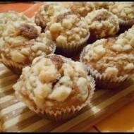 Muffiny z dżemem i kruszonką