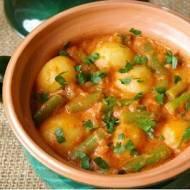 Curry z ziemniaków.