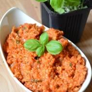 Kasza jaglana z ryżem w sosie pomidorowym