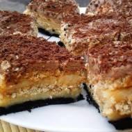Kostka królowej czyli ciasto z nutellą bez pieczenia!