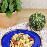 Makaron z kurczakiem i suszonymi pomidorami