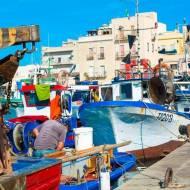Paleo podróże: Sycylia targ rybny w Trapani