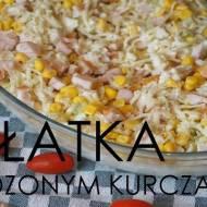 Sałatka z Wędzonym kurczakiem - Fit Sałatka